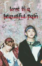 love is a beautiful pain / vkook  by ChinonaNino