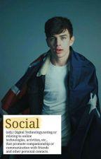 SOCIAL × hayes grier  by LottieLOX