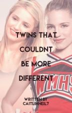 Twins That Couldn't be More Different - Glee/Lauren Jauregui by caitlinneil7