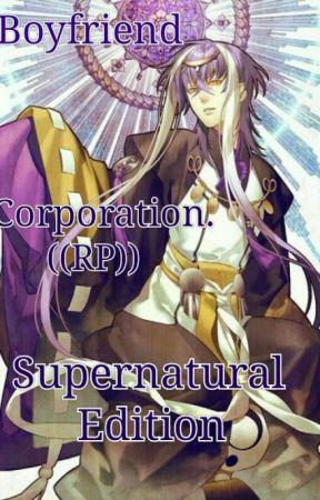 Boyfriend Corporation. Supernatural Edition ((RP)) by Peru_and_Romano