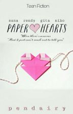 Paper Hearts by pendairy