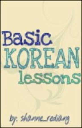 Basic Korean Lessons :) by shanne_rediang