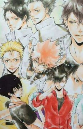 Mafia meet volleyball dork [A KHR x Haikyuu crossover] by farawaycat