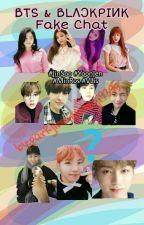 BTS & BLΛƆKPIИK Fake Chat by parkjiminyoongi9395