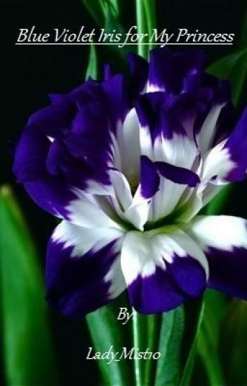 Blue Violet Iris for My Princess