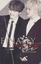 Finally...marry me ❀ YoonMin by AGUSTDS