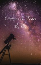 Citations & textes by me by spiritjuju00