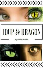 Loup et dragon by elyssewyler