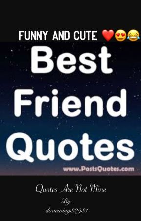 Funny and cute best friend quotes  by dovewing32931