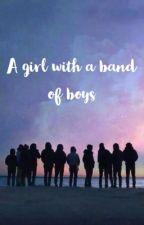 فتاة في فرقة فتيان  by kim_2111