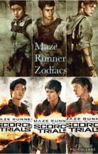 The Maze Runner Zodiacs by NewtA5TheGlue