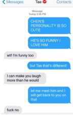 BTS Texts & Scenarios by Taes_blurry_pics
