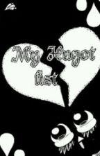 My Hugot List by naryel_belle07