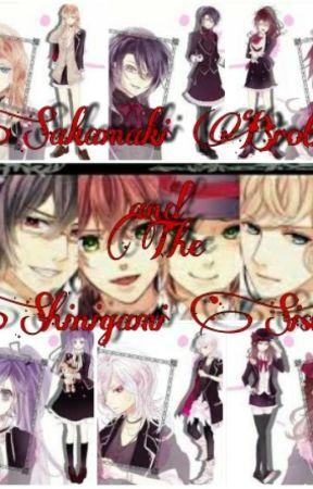 Sakamaki Brother and The Shinigami Sisters by PlayGameYuna