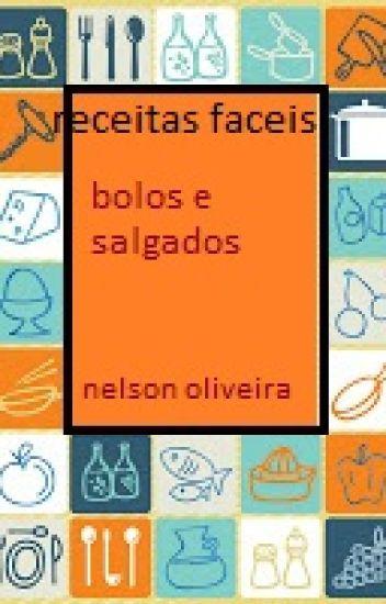 livro de receitas; fáceis, praticas e caseiras.