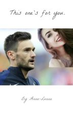 This one's for you. {Hugo Lloris} by Anna-Lunna
