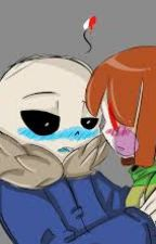 ¿Por que me amas?/sans x chara by kile906