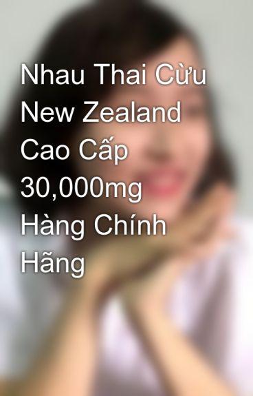 Nhau Thai Cừu New Zealand Cao Cấp 30,000mg Hàng Chính Hãng by NgoLeQuyen
