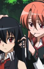 Akame Ga Kill Akame X male reader X Chelsea by STIKER123