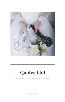 [Quotes Idol] Cho Fan Kpop