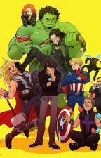 Percy Jackson und die Avengers by uffhgfius