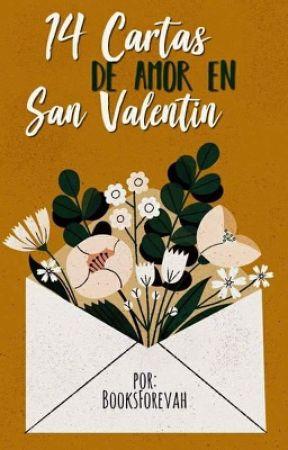 14 cartas de amor en San Valentin. by booksforevah
