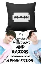 Pillows and razors // Phan texting by smol_kiwii