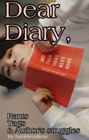 dear diary by bubblemilktae