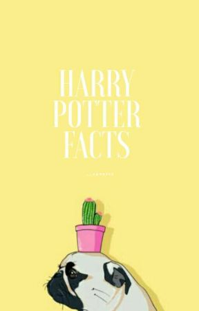 Harry Potter Facts for your knowledge by Aesthetical_Trash