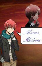 Karma x Reader Expressionless.. by Shiro_5