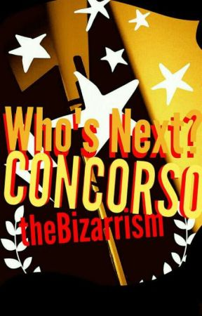 "Contest ""Who's Next?"" 2017 by TheBizarrism"