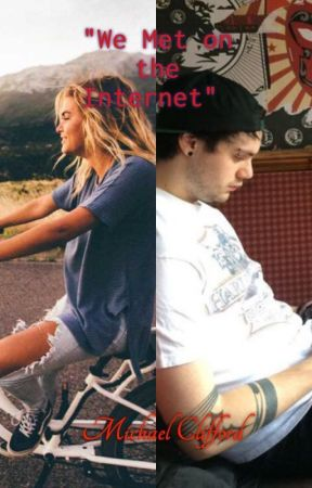 """We met on the internet""// Michael Clifford by -TRXYE5SOS-"