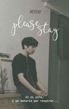 Please, stay  ❀ KookV by mithzah23