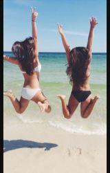 just two girls by annaaabananaa