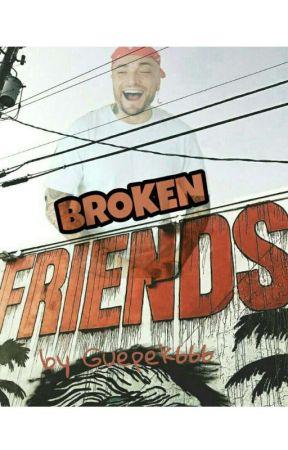 Broken Friends || Guè Pequeño  by guepek666