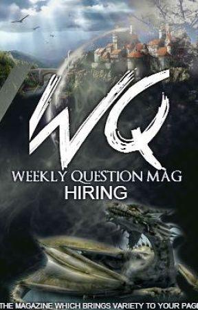 WeeklyQuestionMag  24 November by WeeklyQuestionMag