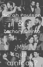 Sarah Paulson y Zachary Quinto - ¿Más que amigos? by LDarkx0xx