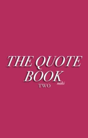 the quote book ♡ two by velvetfrnk