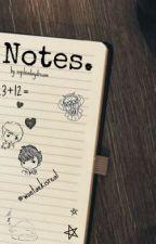 Notes. | Wontaek by sophiadaydream