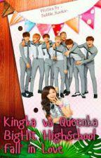 Kingka vs Queenka Bighit Highschool Fall in Love (BTS & EUNJI) by -bubble_Kookie-