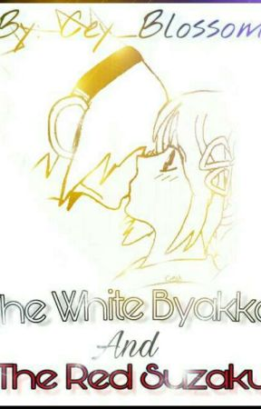 The White Byakko And The Red Suzaku by Cey_Blossom