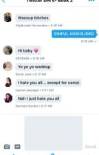 Twitter DM's - Fifth Harmony (Book 2) by Emisonislifee