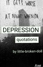 DEPRESSION quotations  by little-broken-doll