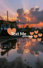 text me - vmin by nimijmik0o