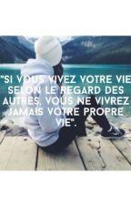 """""""Ne m'appel plus part mon prénom.""""  by __melaanie_"""