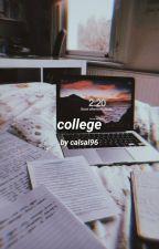 College × Magcon √ by Shameron9498
