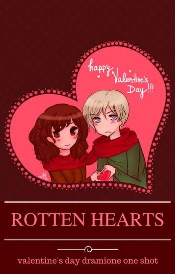 Rotten hearts || Walentynkowy one shot Dramione