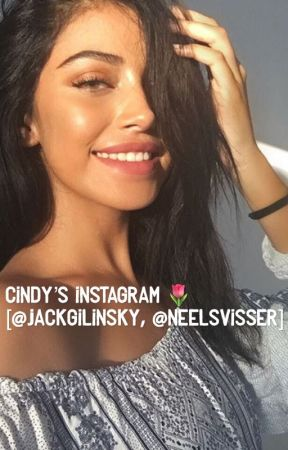 Cindy's Instagram | @jackgilinsky, @neelsvisser by 2stressedforaname