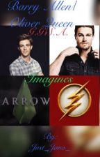 Barry Allen/ Oliver Queen/ Grant Gustin/ Stephen Amell Imagines by queenof_heartss