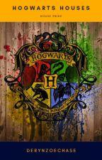 Hogwarts Houses by DerynZoeChase